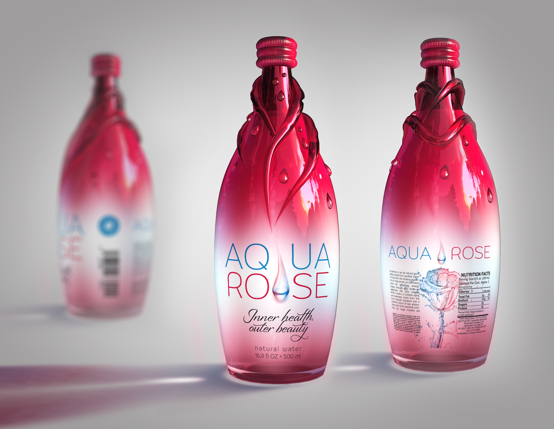 AquaRose product packaging