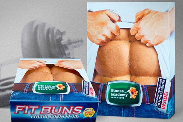 Fit Buns product packaging