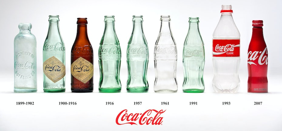 Coca-Cola bottle product packaging