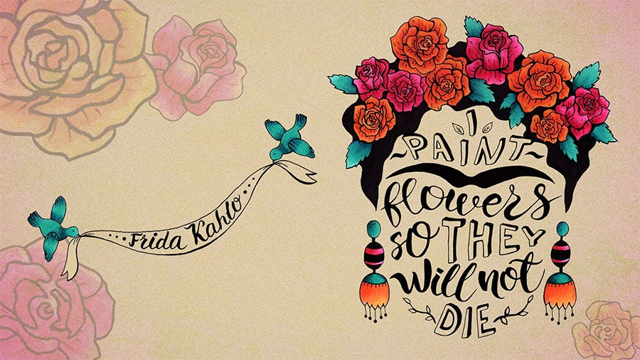 Frida Kahlo Famous Creative Quote