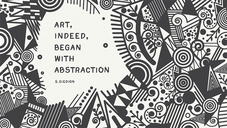 Sigfried Giedion famous creative quote