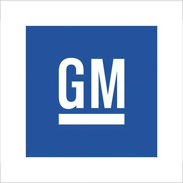 GM blue logo