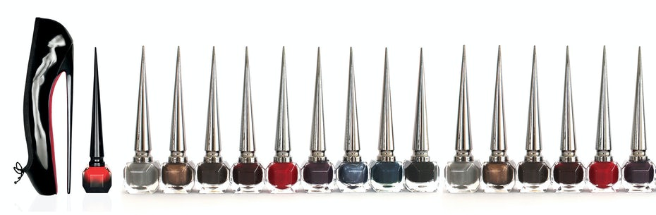 Christian Louboutin nail polish product packaging