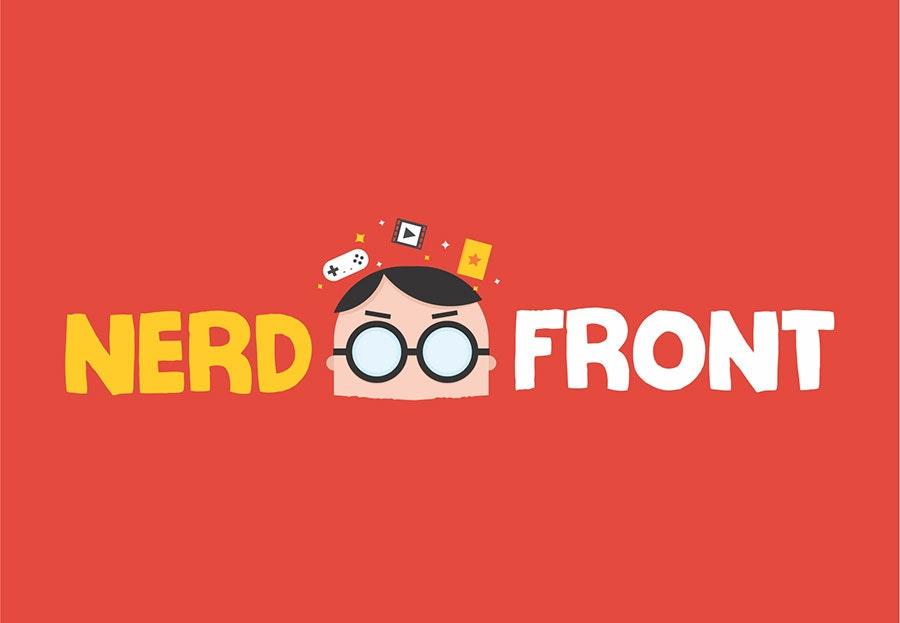 nerdfront logo