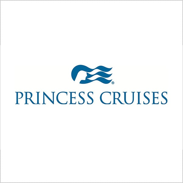 princess cruises blue logo water