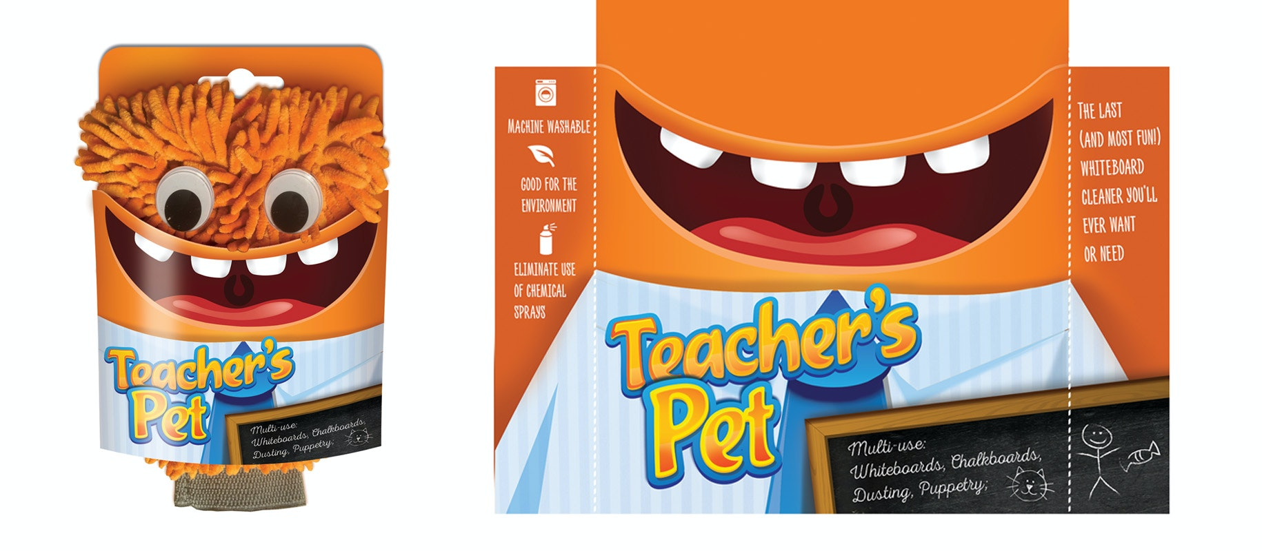 Teacher's Pet product packaging from 99designs
