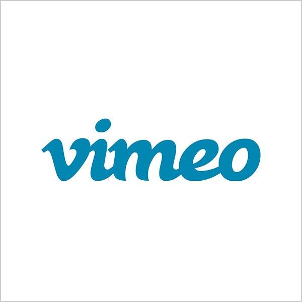 vimeo blue logo