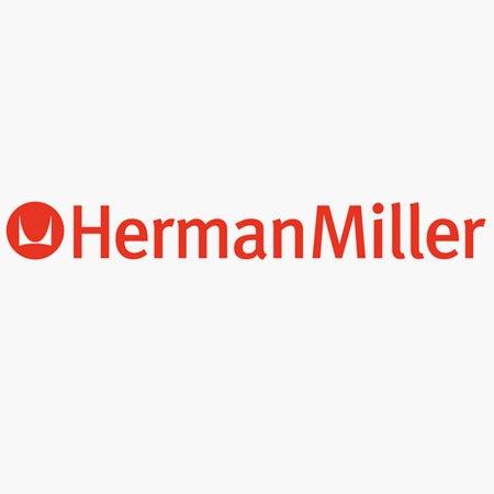 HermanMiller logo with FF Meta font
