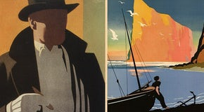 Art Deco advertisements: Bridging vintage and ultramodern