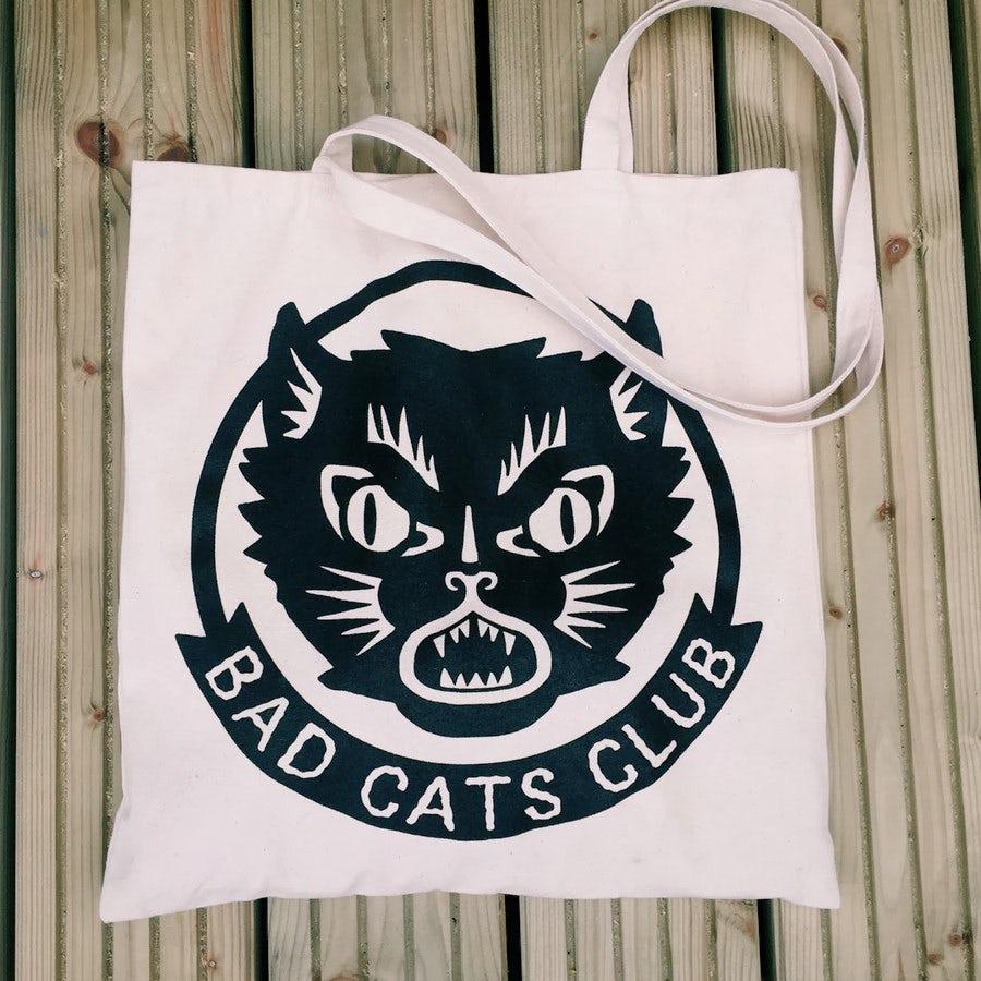 Bad cats club logo