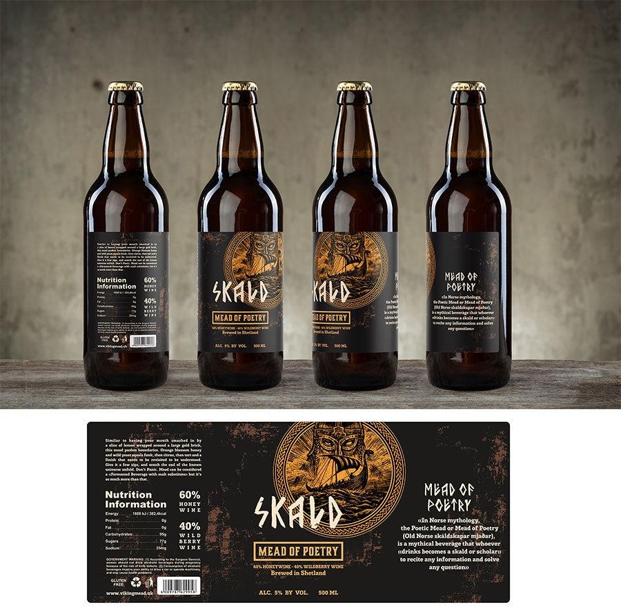 skald beer label top 9