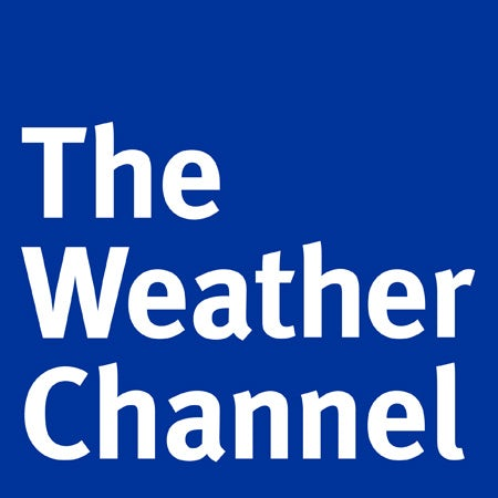 The Weather Channel logo with FF Meta font