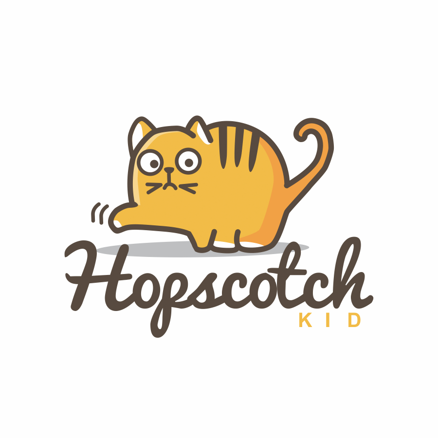cute kitten logo