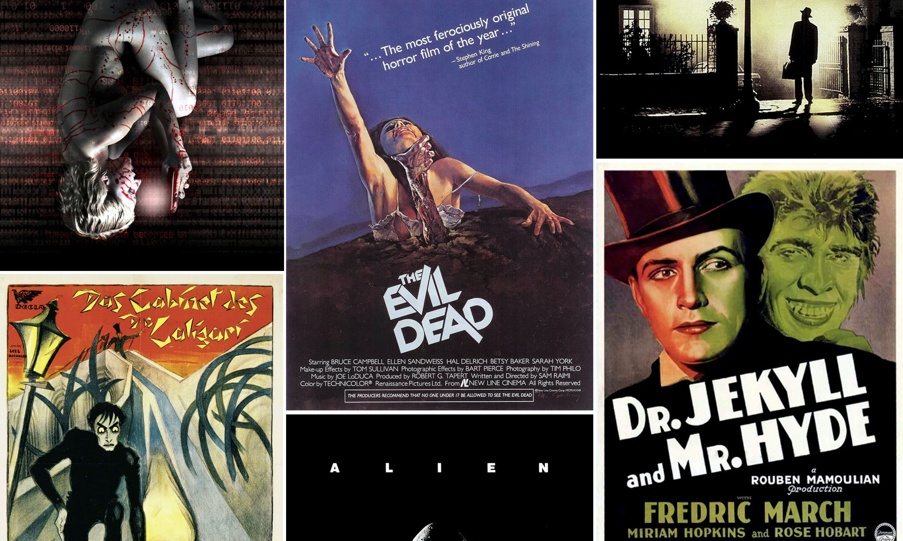 31 horror movie posters so good it's scary - 99designs