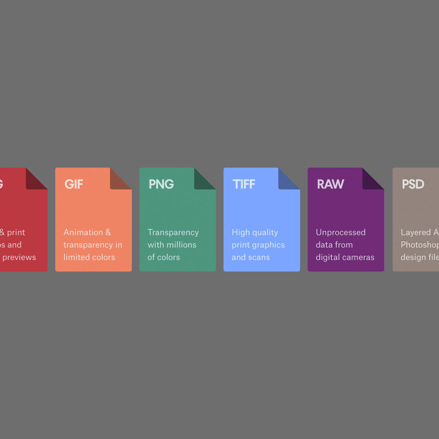 Image file formats: when to use each type of file - 99designs