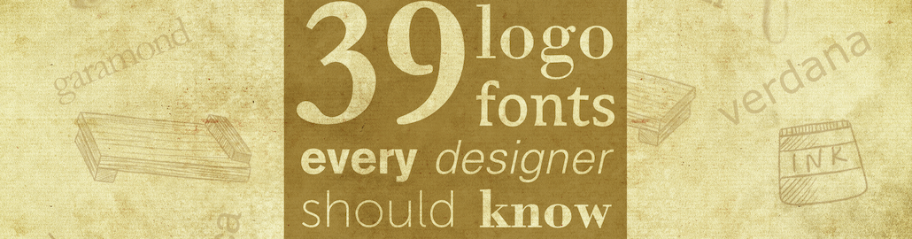 39 logo fonts every designer should know