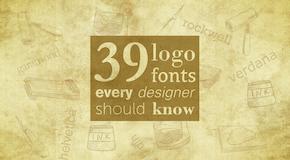 39 Logoschriften, die jeder Designer kennen sollte