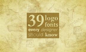 39 logo fonts every designer should know