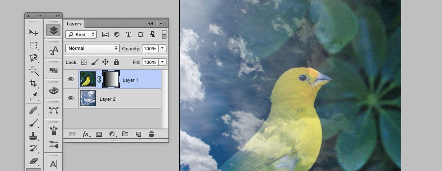photoshop layer masks transparency