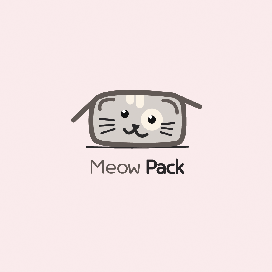 meow pack square cat logo