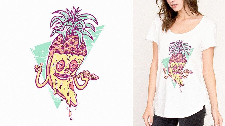 pizza t-shirt top 9