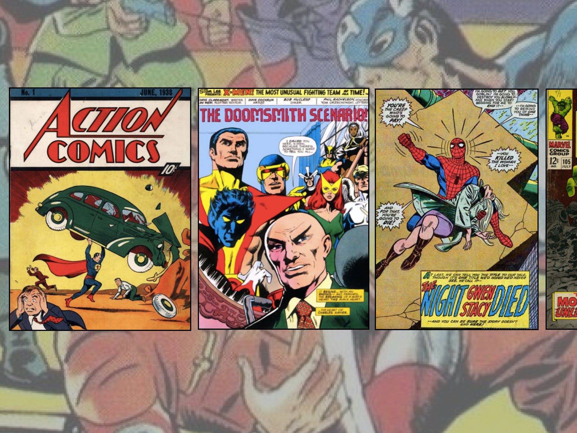 The amazing stylistic history of comic books - 99designs