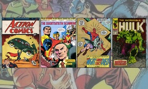 The amazing stylistic history of comic books