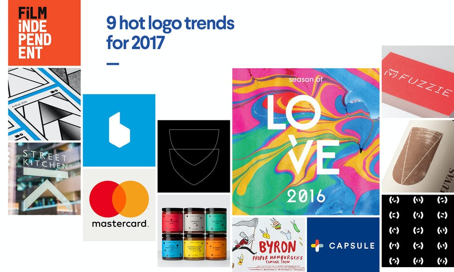 Logo Design Trends: 9 Hot Logo Design Trends For 2017
