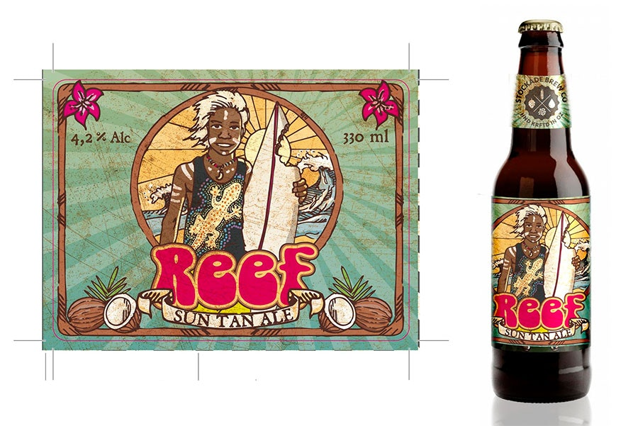 beer label design