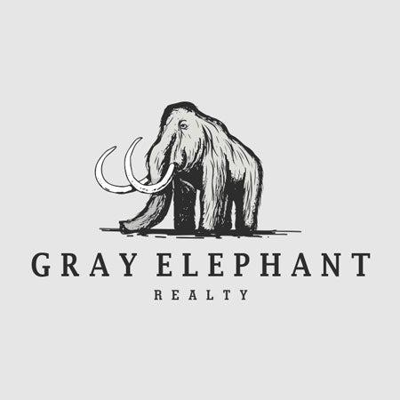 Gray Elephant real estate logo