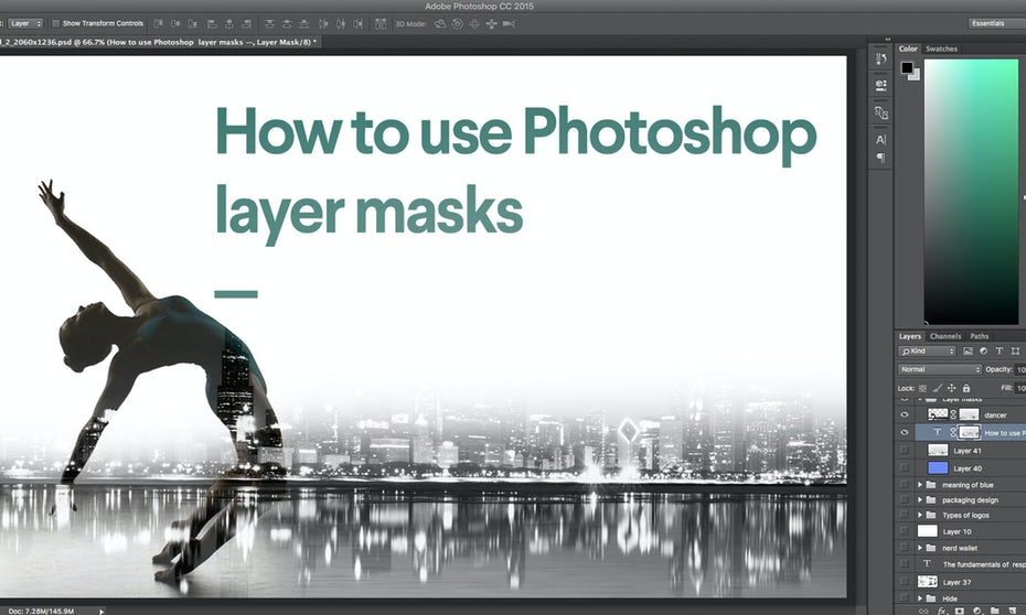 How To Use Photoshop Layer Masks 99designs