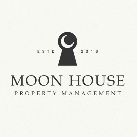 Moon House real estate logo
