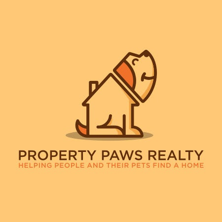 pet themed real estate logo