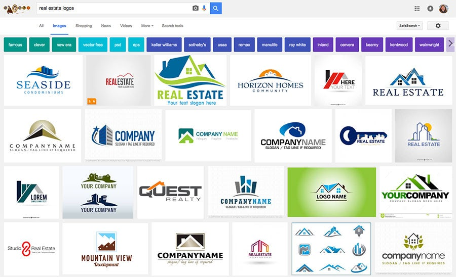 generic real estate logos
