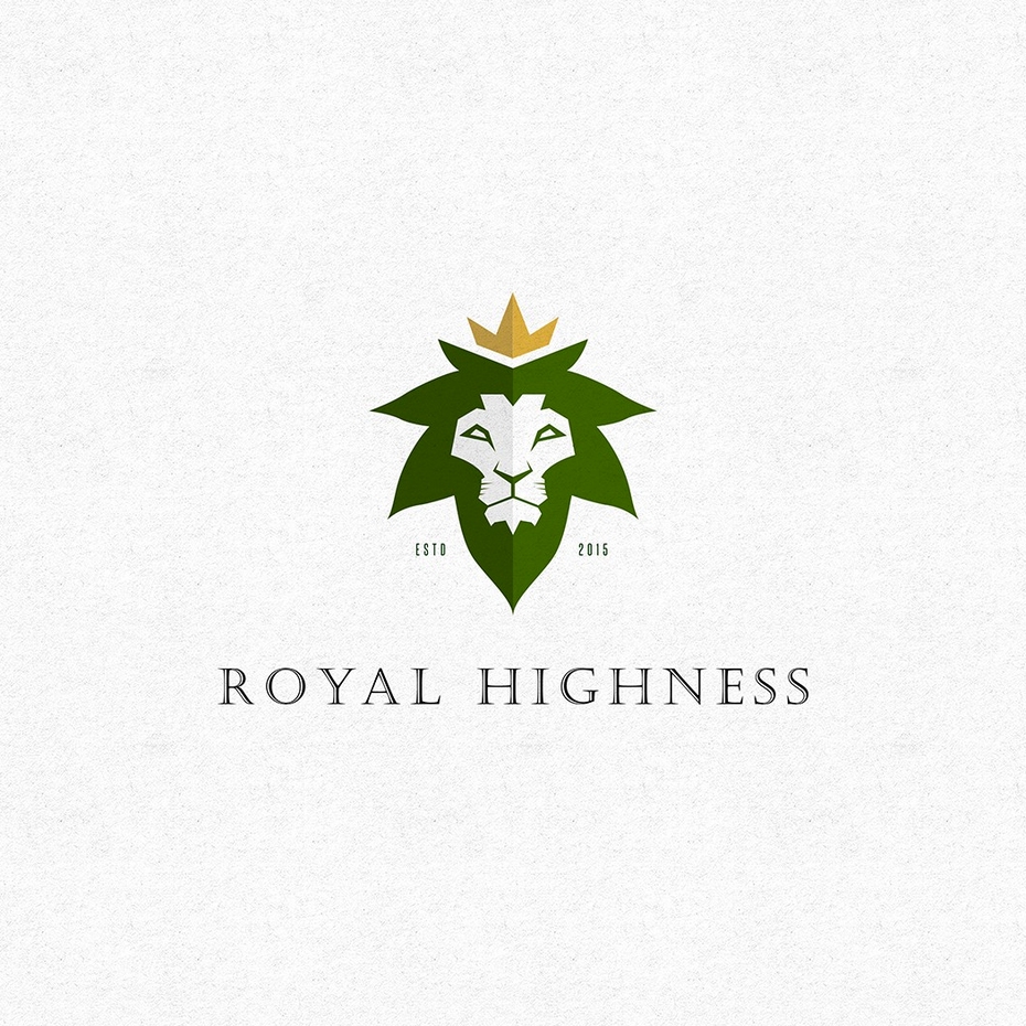 royal highness weed logo