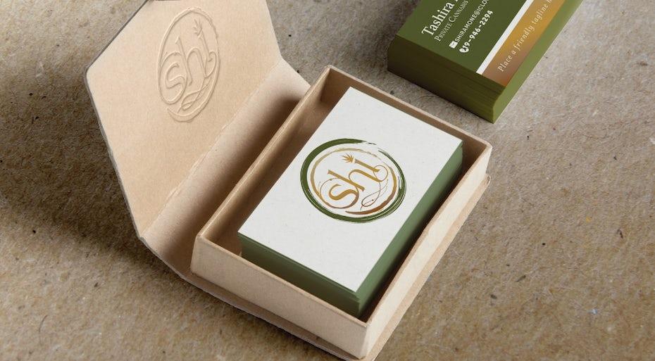 Cannabis nursing company logo