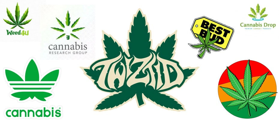 Cannabis Branding 42 Chronic Weed Logos And Marijuana Packaging