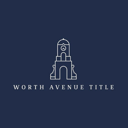 Worth Avenue Title real estate logo