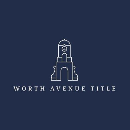 Worth Avenue Title real estate logo