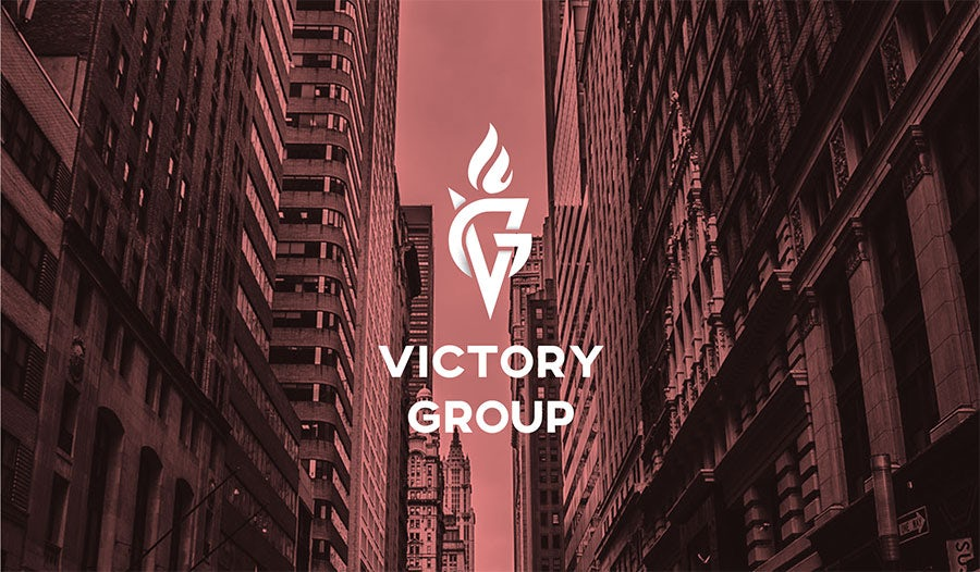 victory real estate logo