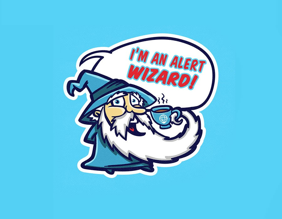 wizard sticker