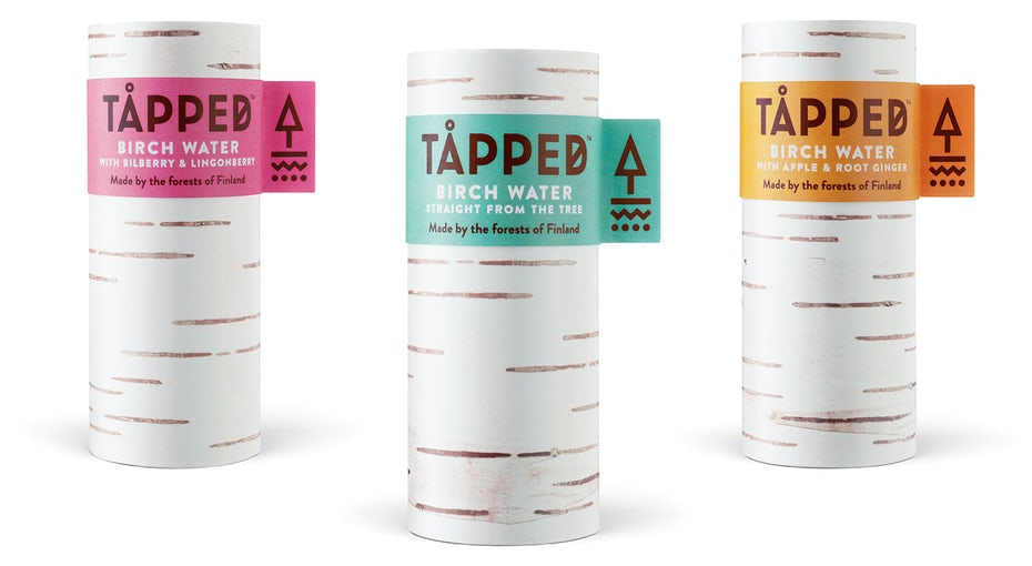 tapped packaging