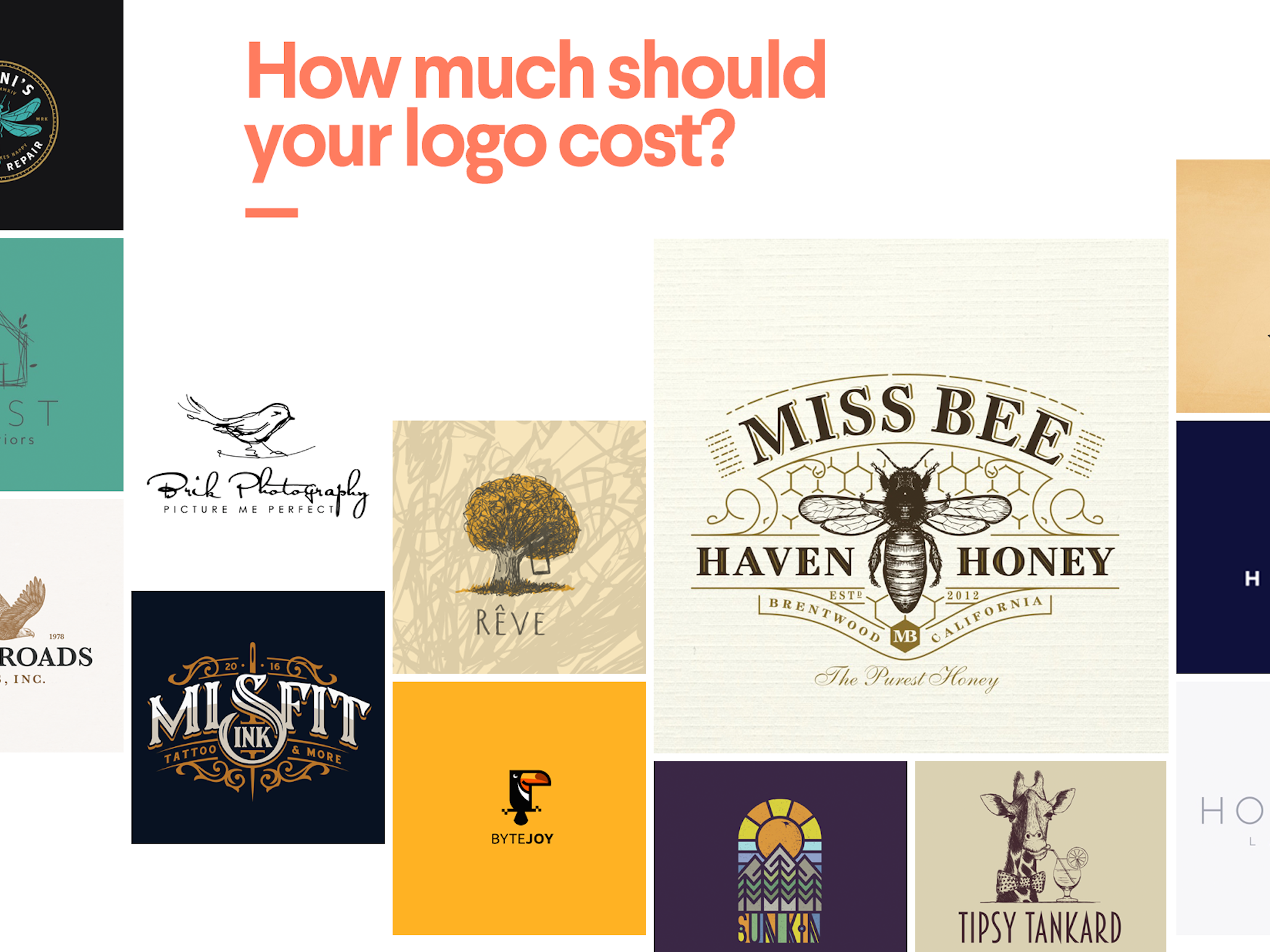 How Much Does A Logo Design Cost 99designs