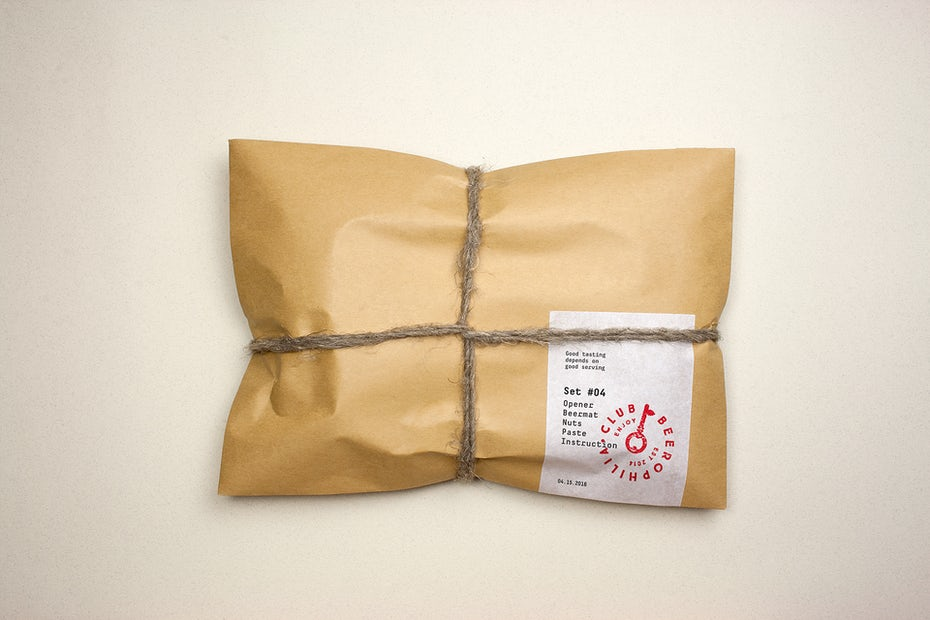 postal packaging design