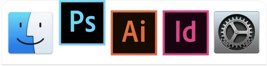 Photoshop vs. Illustrator vs. InDesign