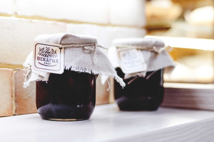 Etikettenvorlagen für Lebensmittel