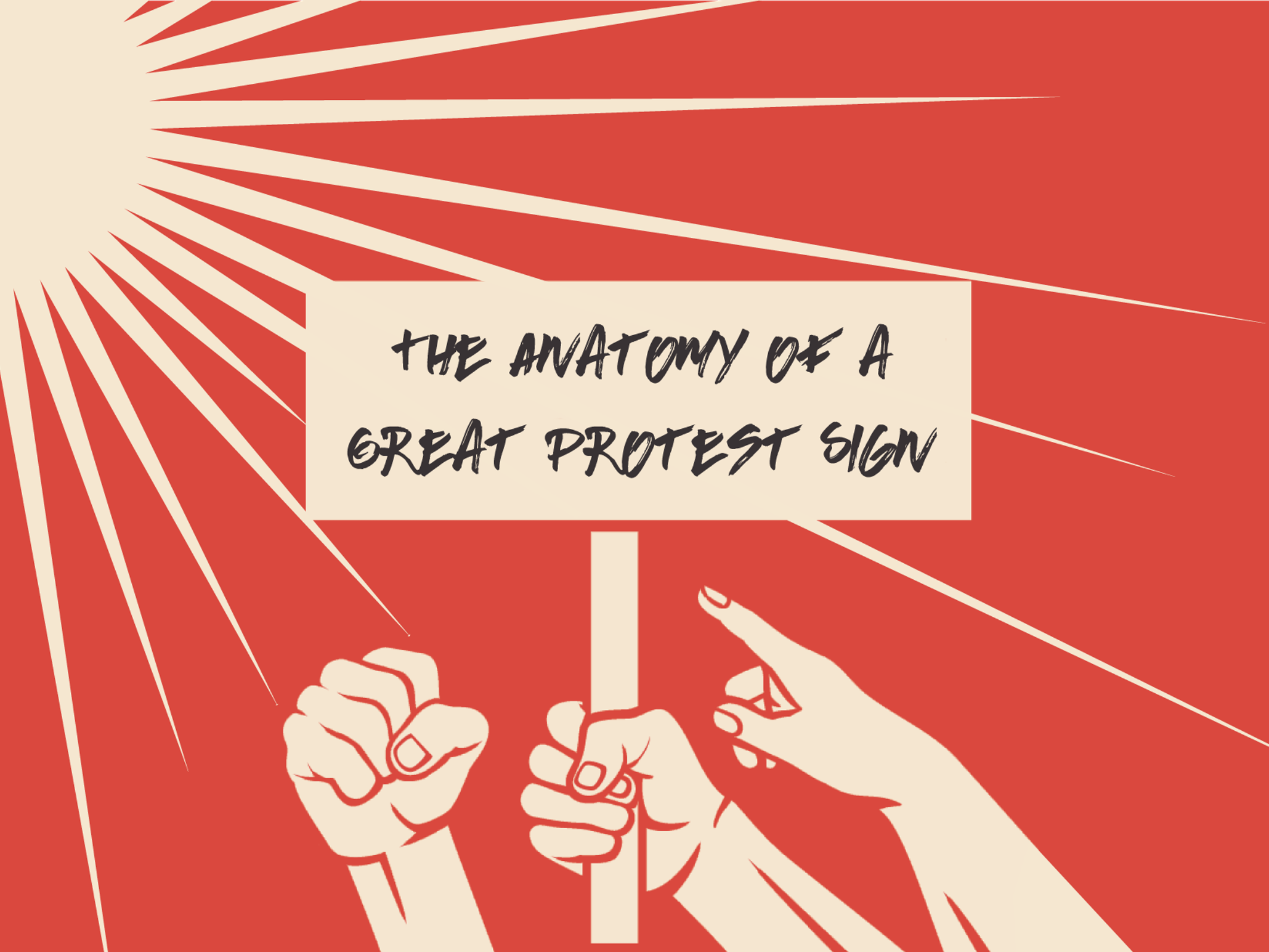 How to design a great protest sign - 99designs
