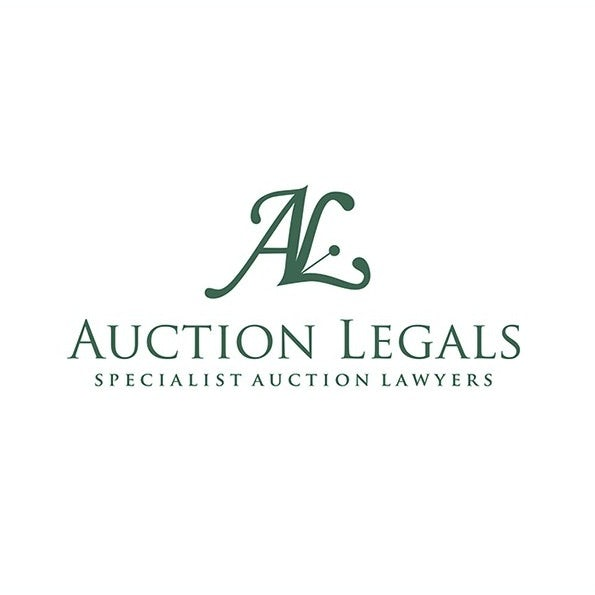 WHITE GREEN MONOGRAM LAWYER LOGO