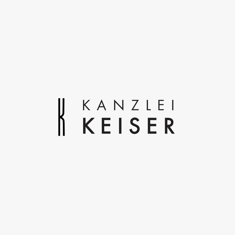 LAW FIRM LOGO DESIGN WITH ELONGATED K