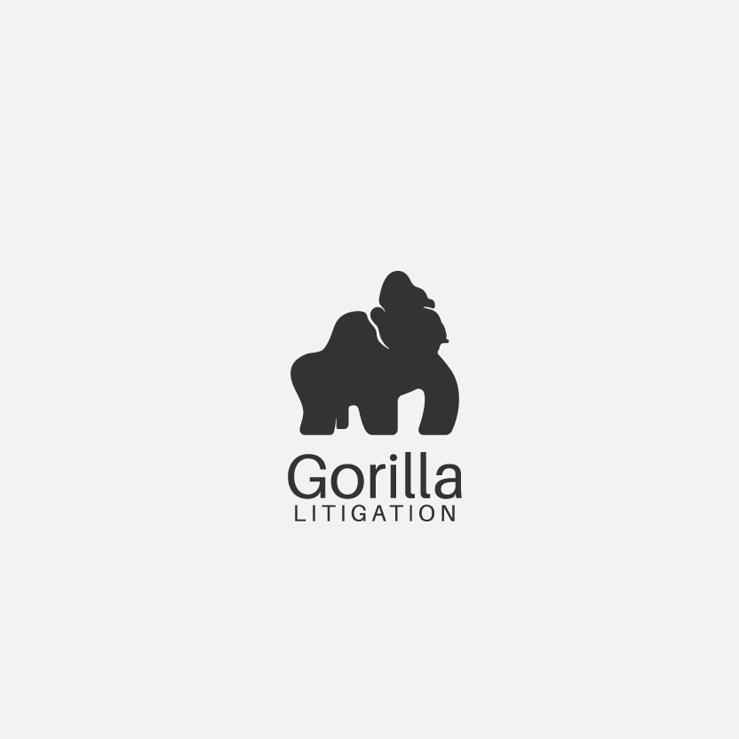 LEGAL LOGO WITH GORILLA